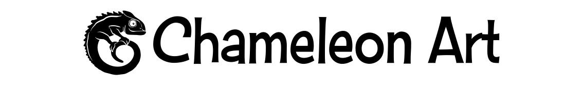 Chameleon Art Logo