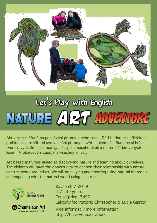 Nature Art Adventure - Chameleon Art / xenovision